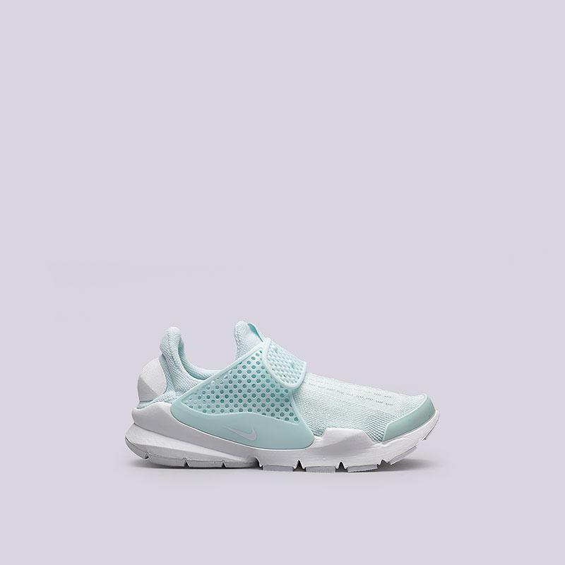 Кроссовки Nike Sportswear WMNS Sock DartКроссовки lifestyle<br>Текстиль, резина, пластик<br><br>Цвет: Голубой<br>Размеры US: 6;7;8;9<br>Пол: Женский