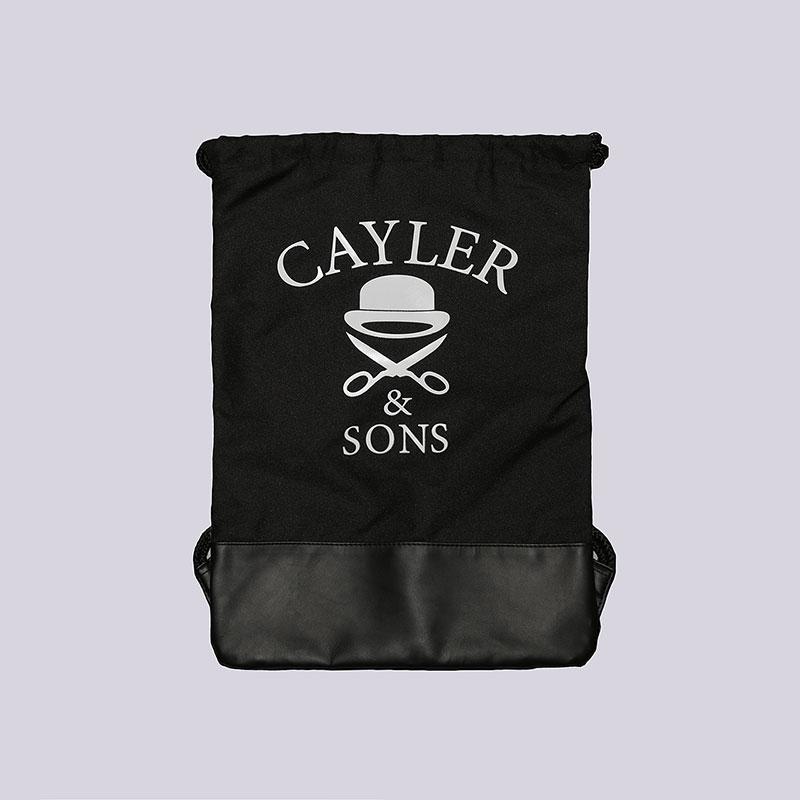 Мешок Cayler &amp; sons C&amp;S Kush Gym BagСумки, рюкзаки<br>Полиэстер<br><br>Цвет: Чёрный, зелёный<br>Размеры : OS