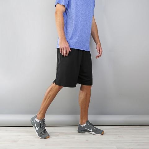 Купить мужские черные  шорты nike dry training shorts в магазинах Streetball - изображение 1 картинки