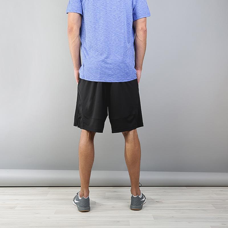 Купить мужские черные  шорты nike dry training shorts в магазинах Streetball изображение - 3 картинки