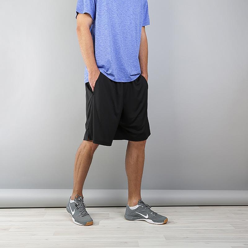 Купить мужские черные  шорты nike dry training shorts в магазинах Streetball изображение - 4 картинки