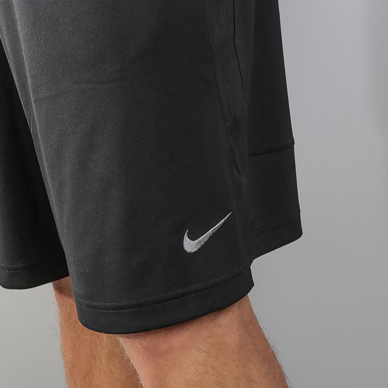 Купить мужские черные  шорты nike dry training shorts в магазинах Streetball изображение - 5 картинки