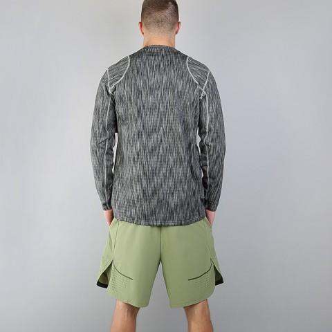 мужскую серую  футболка nike pro warm 824280-003 - цена, описание, фото 2