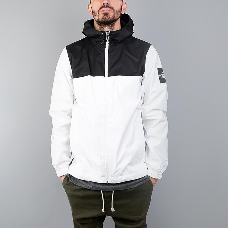 Куртка The North Face Mountain Q JKTКуртки, пуховики<br>Нейлон, полиэстер<br><br>Цвет: Белый, черный<br>Размеры US: S;XL<br>Пол: Мужской