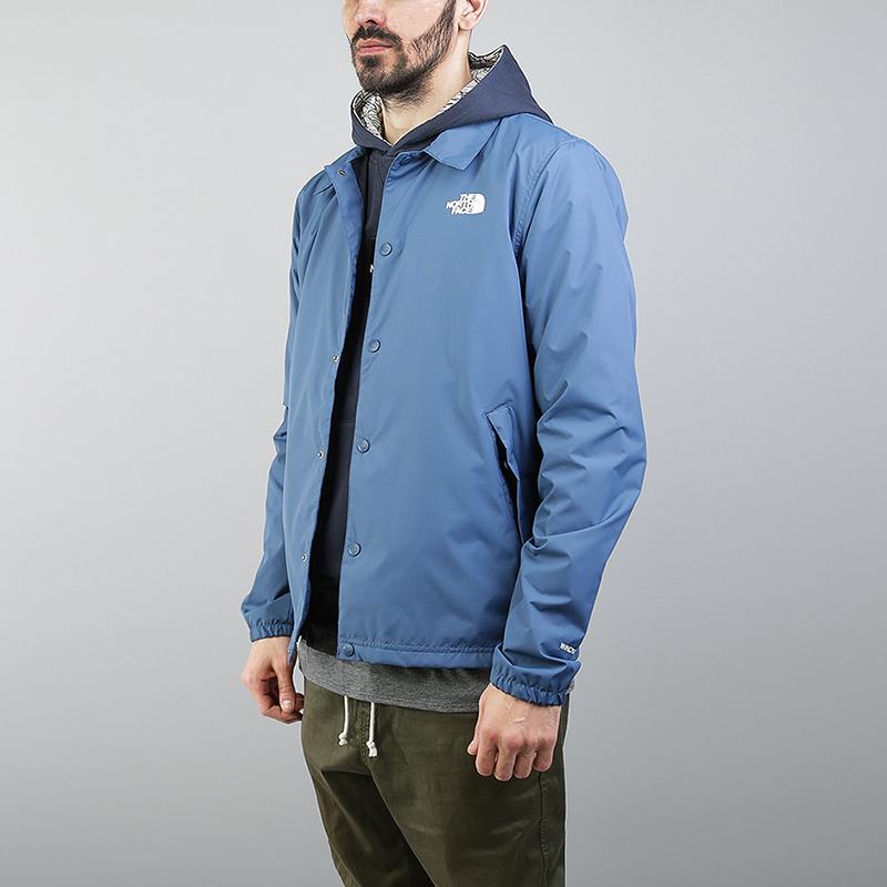 Куртка The North Face Coaches JKTКуртки, пуховики<br>100% полиэстер<br><br>Цвет: Синий<br>Размеры US: L<br>Пол: Мужской