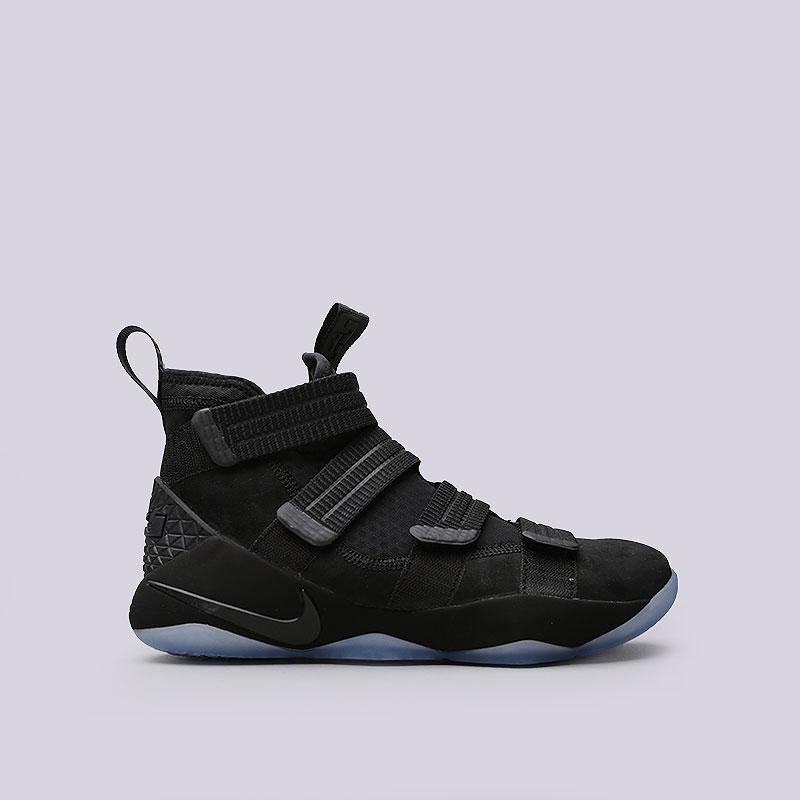 dce9de06 мужские чёрные кроссовки nike lebron soldier xi sfg 897646-001 - цена,  описание,