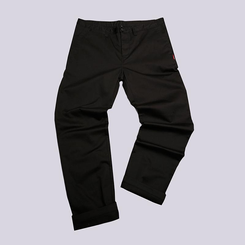 Брюки Undftd All GoodБрюки и джинсы<br>65% полиэстер, 35% хлопок<br><br>Цвет: Черный<br>Размеры US: 38<br>Пол: Мужской