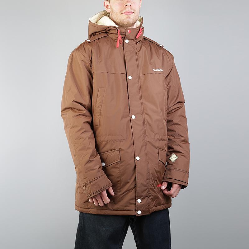 Куртка True spin FishtailКуртки, пуховики<br>Полиэстер<br><br>Цвет: Коричневый<br>Размеры : 2XL<br>Пол: Мужской