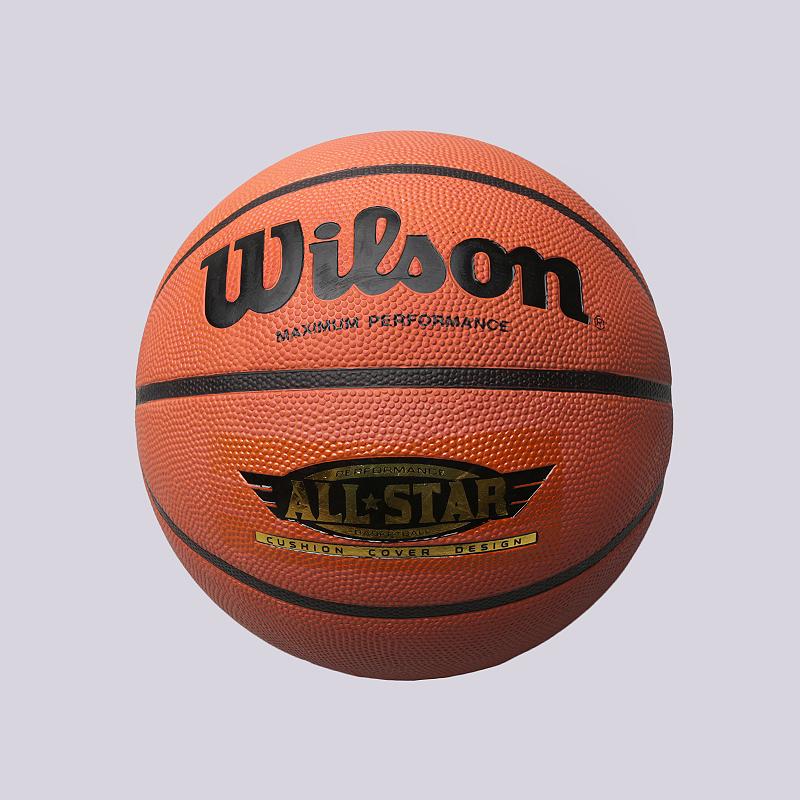Мяч №7 Wilson PerfomanceМячи<br>Резина<br><br>Цвет: Оранжевый<br>Размеры : 7