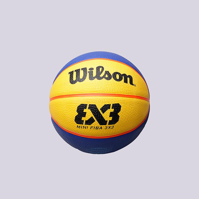 Мяч №3 Wilson FIBA 3x3Мячи<br>Резина<br><br>Цвет: Синий, желтый<br>Размеры : 3