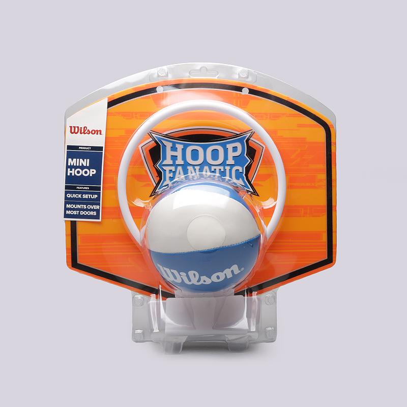 Набор Wilson Hoop Fanatic MiniМячи<br>Пластик, синтетика<br><br>Цвет: Оранжевый<br>Размеры : OS