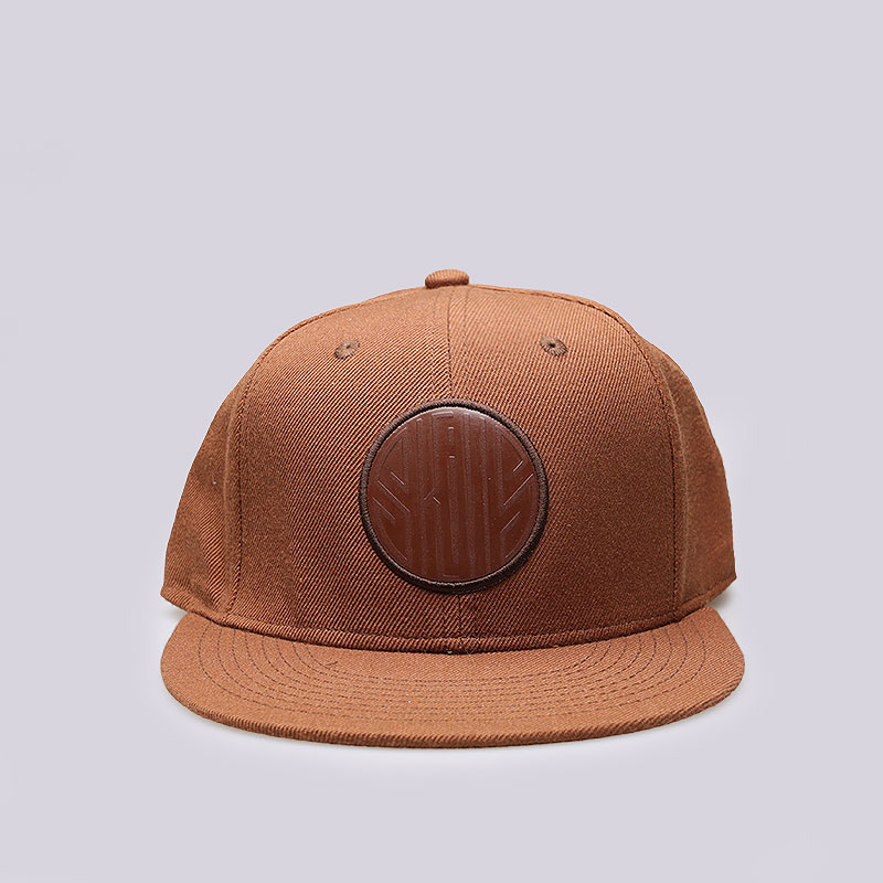 коричневую  кепка skills 4 Skills 04-brown - цена, описание, фото 1