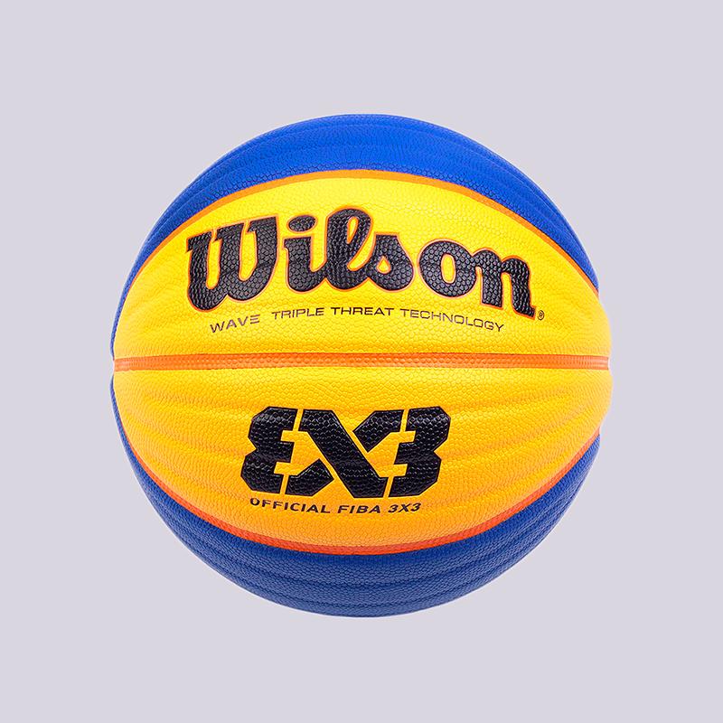 Мяч №6 Wilson Official FIBA 3x3Мячи<br>Кожа<br><br>Цвет: Синий, желтый<br>Размеры : 6