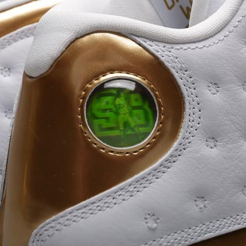мужские белые, чёрные, золотые  кроссовки jordan dmp pack 897563-900 - цена, описание, фото 5