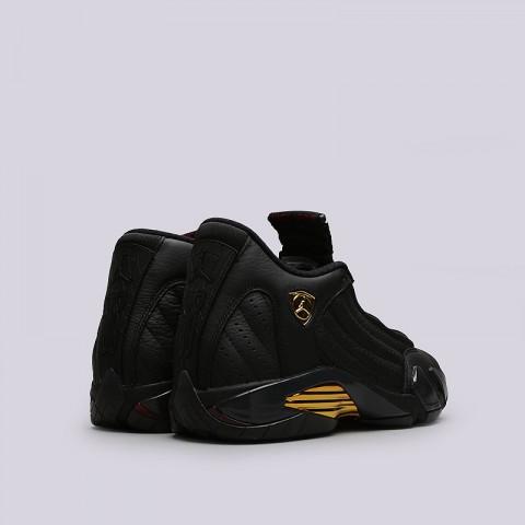 мужские белые, чёрные, золотые  кроссовки jordan dmp pack 897563-900 - цена, описание, фото 9