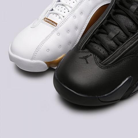 мужские белые, чёрные, золотые  кроссовки jordan dmp pack 897563-900 - цена, описание, фото 6