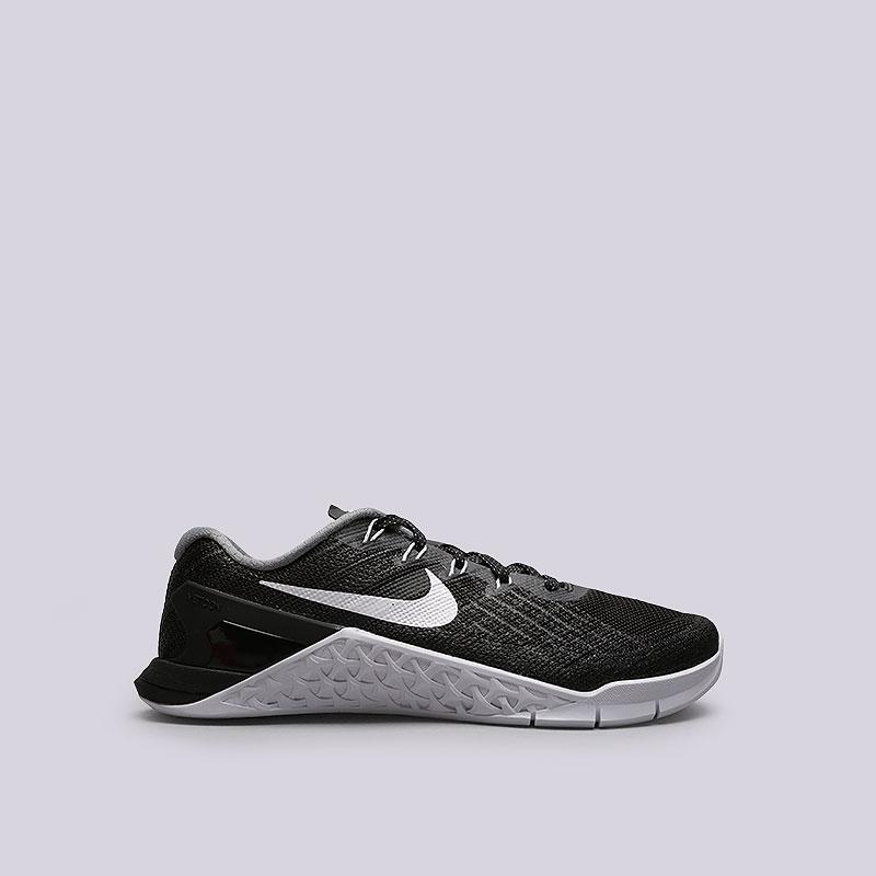 Кроссовки Nike Sportswear WMNS Metcon 3Кроссовки lifestyle<br>Текстиль, резина<br><br>Цвет: Черный<br>Размеры US: 6;6.5;7;7.5;8;8.5;9<br>Пол: Женский