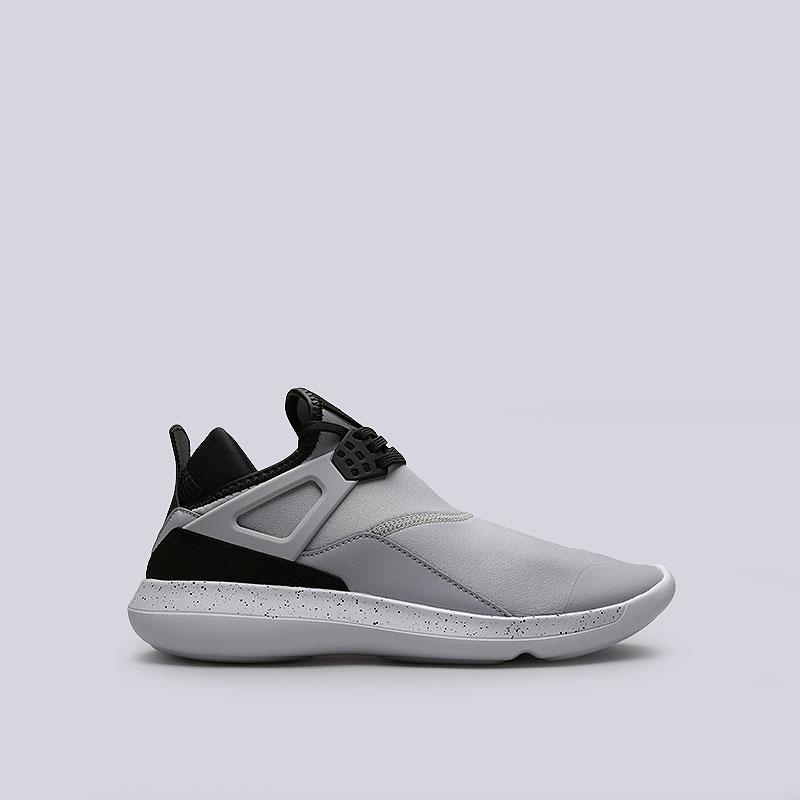 Кроссовки Jordan Fly `89Кроссовки lifestyle<br>Текстиль, синтетика, пластик<br><br>Цвет: Серый<br>Размеры US: 8<br>Пол: Мужской