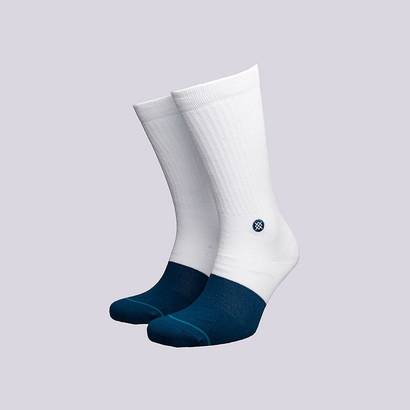 Носки Stance TransitionНоски<br>Хлопок, эластан<br><br>Цвет: Белый<br>Размеры : L<br>Пол: Мужской