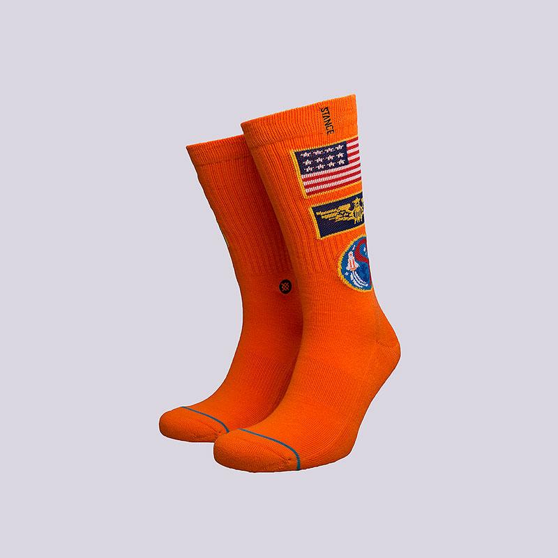 Носки Stance CommanderНоски<br>Хлопок, эластан, нейлон<br><br>Цвет: Оранжевый<br>Размеры : L<br>Пол: Мужской