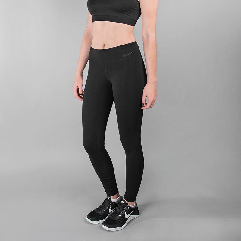 Тайтсы Nike W NK PWR LGNDRY TGHTБрюки и джинсы<br>Нейлон, эластан, полиэстер<br><br>Цвет: Черный<br>Размеры US: XS;S;M;L<br>Пол: Женский