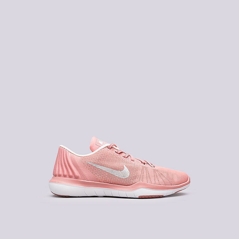 Кроссовки Nike WMNS Flex Supreme TR 5 BionicКроссовки lifestyle<br>Текстиль, пластик, резина<br><br>Цвет: Розовый<br>Размеры US: 6;7;8<br>Пол: Женский