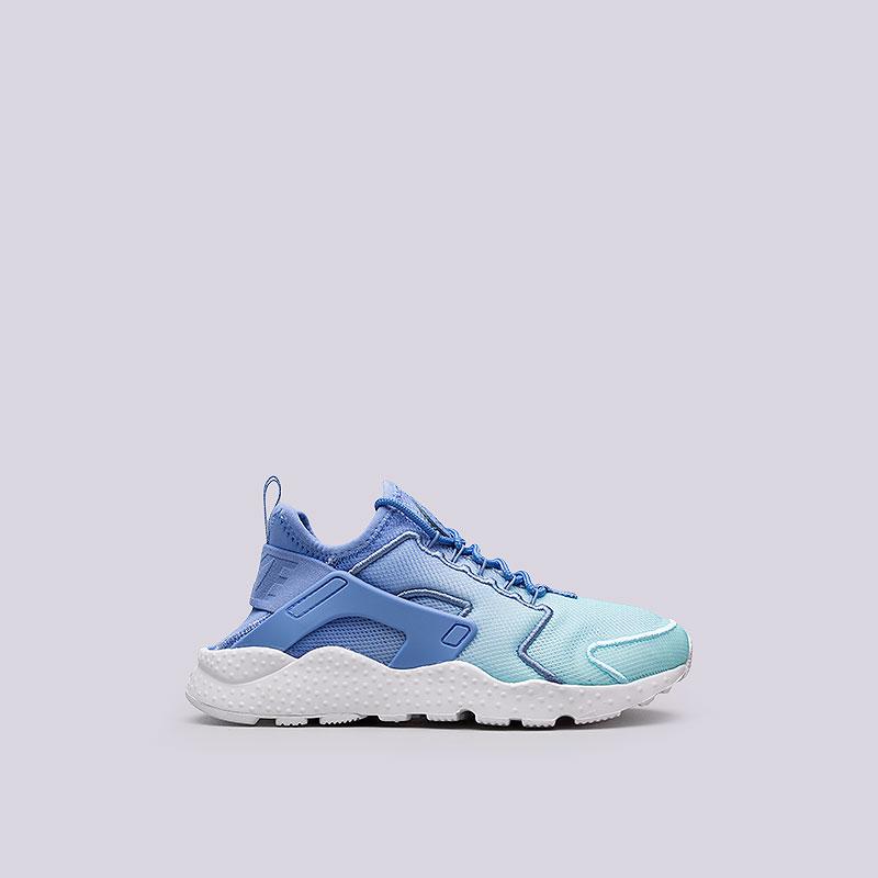 Кроссовки Nike Sportswear WMNS Air Huarache Run Ultra BRКроссовки lifestyle<br>Текстиль, пластик, резина<br><br>Цвет: Голубой<br>Размеры US: 6;6.5;7;7.5;8;8.5<br>Пол: Женский