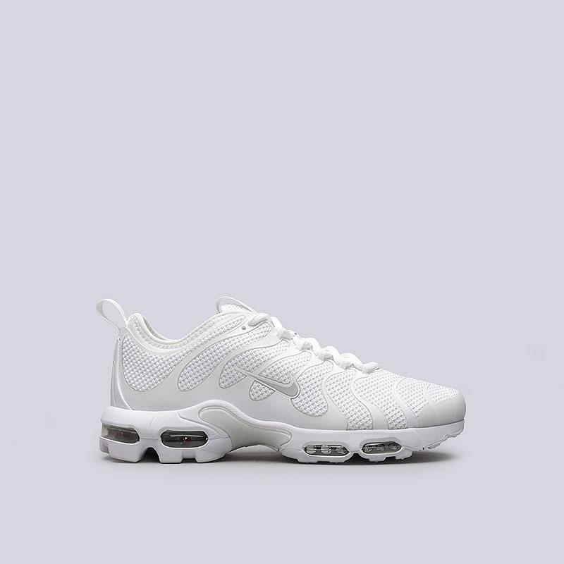 Кроссовки Nike Air Max Plus TN UltraКроссовки lifestyle<br>Текстиль, резина, пластик<br><br>Цвет: Белый<br>Размеры US: 11.5<br>Пол: Мужской