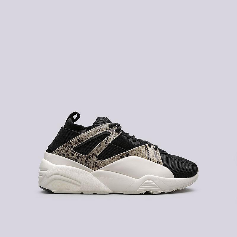 Кроссовки Puma BOG Sock SnakeКроссовки lifestyle<br>Кожа, текстиль, резина<br><br>Цвет: Черный<br>Размеры UK: 4.5<br>Пол: Женский