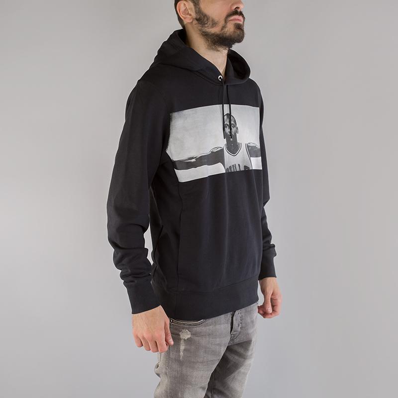 Толстовка Jordan Sportswear Legend Flight LiteТолстовки свитера<br>80% хлопок, 20% полиэстер<br><br>Цвет: Черный<br>Размеры US: S;M;L;XL;2XL<br>Пол: Мужской