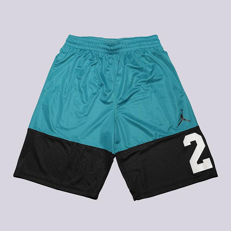 Шорты Jordan Rise 23 ShortШорты<br>100% полиэстер<br><br>Цвет: Черный, голубой<br>Размеры US: S;M;L;XL;2XL<br>Пол: Мужской