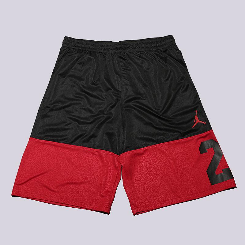 Шорты Jordan Rise 23 ShortШорты<br>100% полиэстер<br><br>Цвет: Черный, красный<br>Размеры US: S;M;XL<br>Пол: Мужской