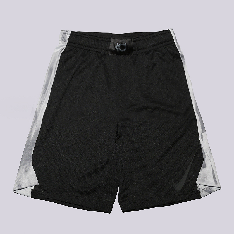 Шорты Nike KD EliteШорты<br>100% полиэстер<br><br>Цвет: Черный, серый<br>Размеры US: 2XL<br>Пол: Мужской