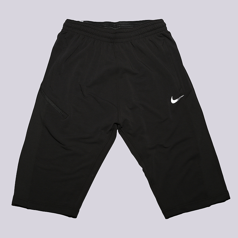 Шорты Nike Dry Basketball ShortsШорты<br>51% вискоза, 43% полиэстер, 6% эластан<br><br>Цвет: Черный<br>Размеры US: L;XL<br>Пол: Мужской