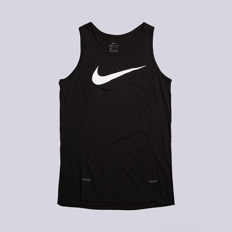 Майка Nike Dry Elite Womens Basketball TankБезрукавки<br>75% полиэстер, 13% злопок, 12% вискоза<br><br>Цвет: Черный<br>Размеры US: XS;S;M;L<br>Пол: Женский