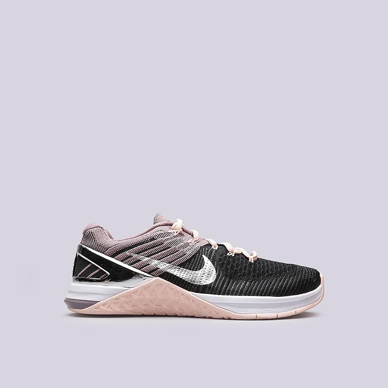 Кроссовки Nike WMNS Metcon DSX FK BionicКроссовки lifestyle<br>Текстиль, пластик, резина<br><br>Цвет: Черный<br>Размеры US: 8.5<br>Пол: Женский