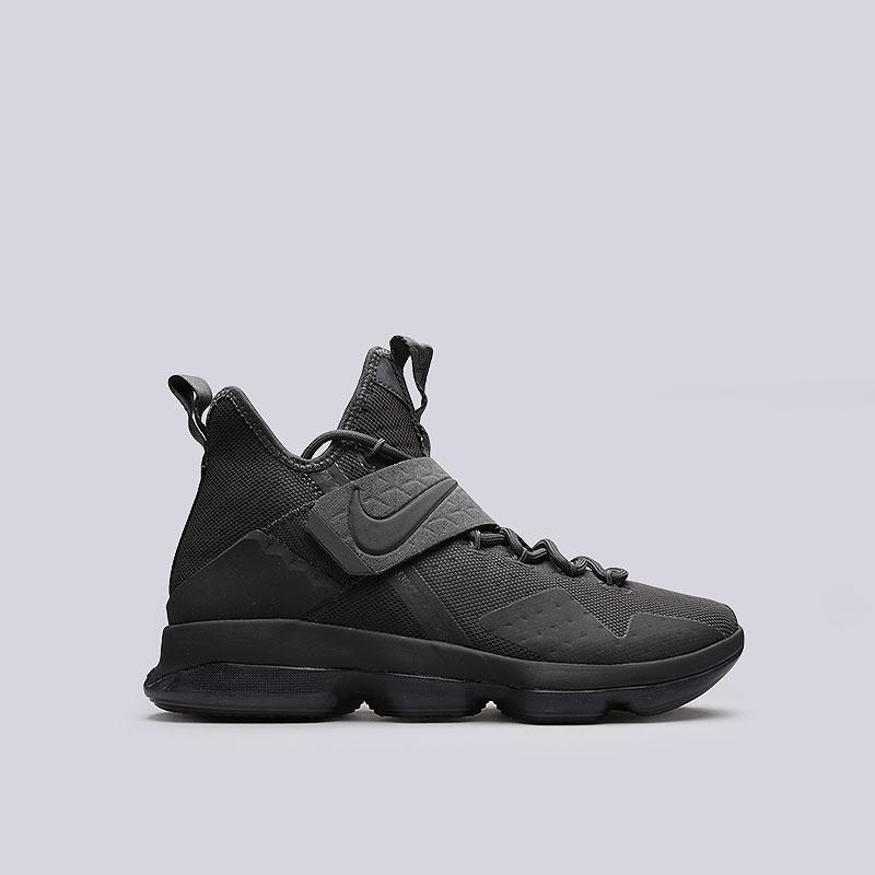 Кроссовки Nike Lebron XIV LMTDКроссовки баскетбольные<br>Текстиль, кожа, пластик, резина<br><br>Цвет: Антрацит<br>Размеры US: 8;8.5;9;9.5;10;10.5;11;11.5;12;12.5;13;14<br>Пол: Мужской