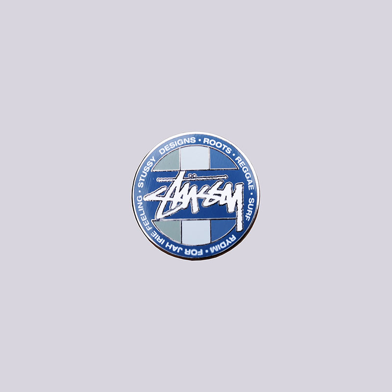 значок-stussy-reggae-dot-pin
