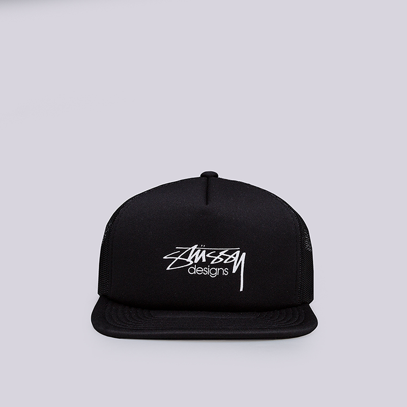 ке-пка-stussy-smooth-stock-tracker-cap