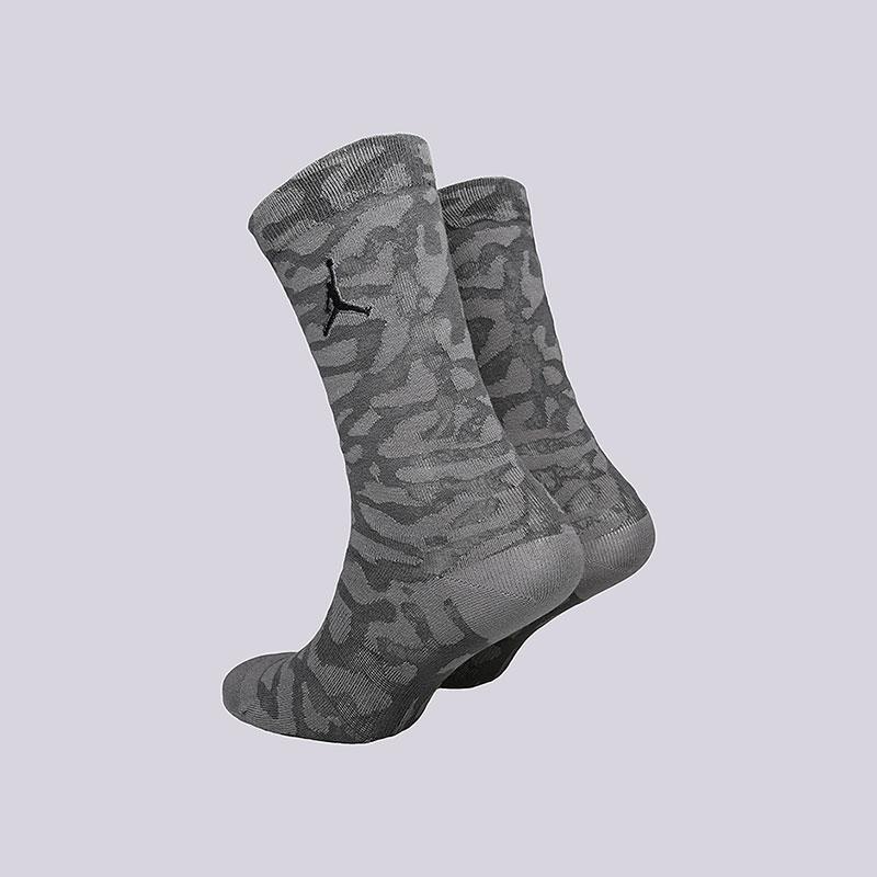 мужские серые  носки jordan elepahnt crew SX5857-021 - цена, описание, фото 2