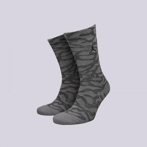 мужские серые  носки jordan elepahnt crew SX5857-021 - цена, описание, фото 1