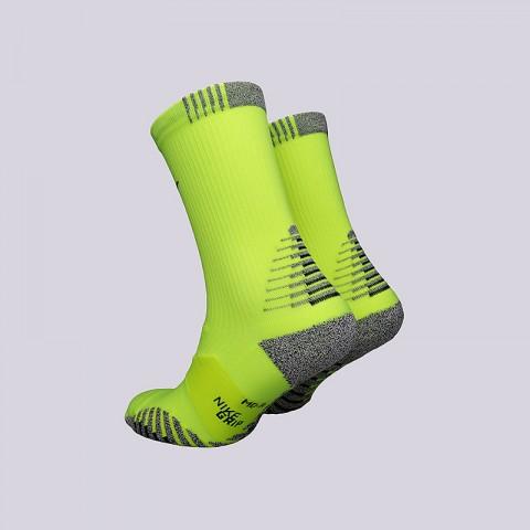 мужские салатовые  носки nike grip lightweight crew SX5752-702 - цена, описание, фото 2