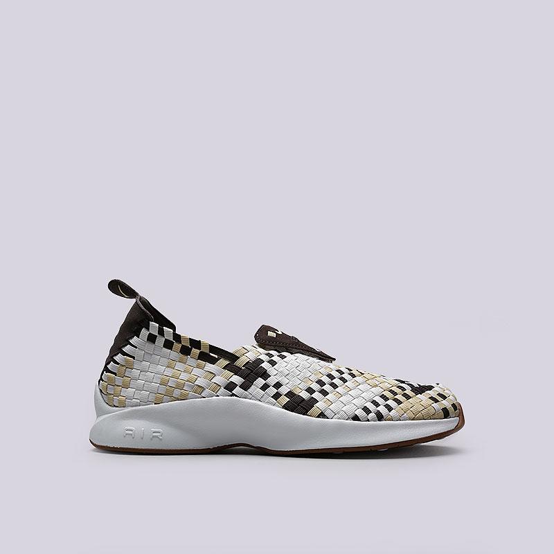 Кроссовки Nike Sportswear Air WovenКроссовки lifestyle<br>Текстиль, кожа, синтетика, резина<br><br>Цвет: Белый<br>Размеры US: 8;10;11;12<br>Пол: Мужской