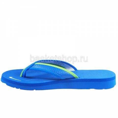 женский голубой, зеленый, белый  wmns celso thong 314870-413 - цена, описание, фото 2