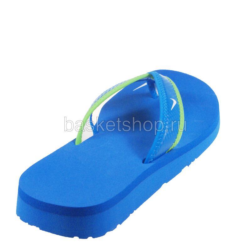 женский голубой, зеленый, белый  wmns celso thong 314870-413 - цена, описание, фото 3