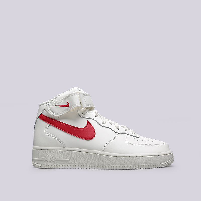 Кроссовки Nike Air Force 1 MID `07Кроссовки lifestyle<br>Кожа, текстиль, резина<br><br>Цвет: Бежевый<br>Размеры US: 11.5;12<br>Пол: Мужской