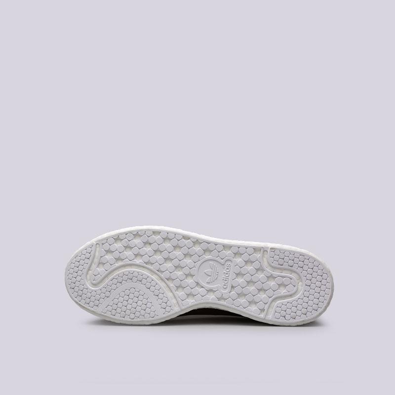 женские бордовые  кроссовки adidas stan smith w BB0107 - цена, описание, фото 2