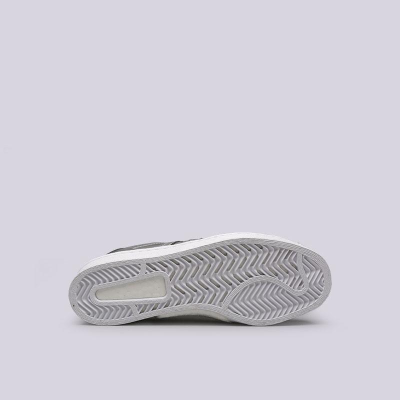 женские серебряные  кроссовки adidas superstar w BB2271 - цена, описание, фото 2