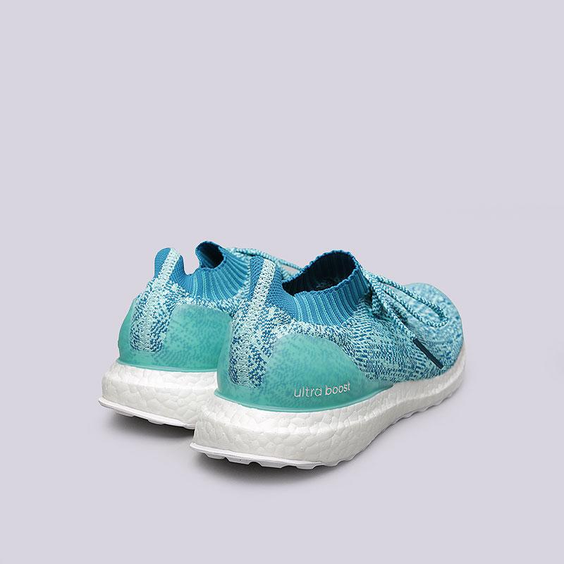 женские голубые  кроссовки adidas ultraboost uncaged w S80781 - цена, описание, фото 3