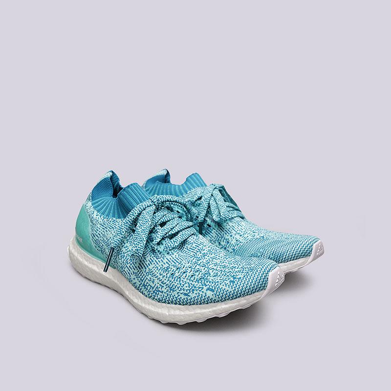 женские голубые  кроссовки adidas ultraboost uncaged w S80781 - цена, описание, фото 4